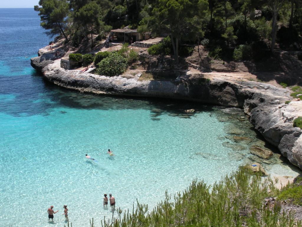 Playas de Menorca - Cala Mitjaneta