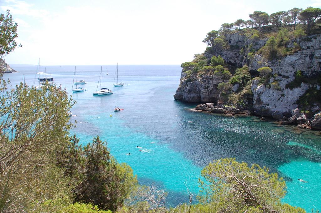 Playas de Menorca - Cala Mitjana